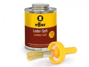 EFFAX- LEATHER SOFT 475 ml -  z pędzelkiem